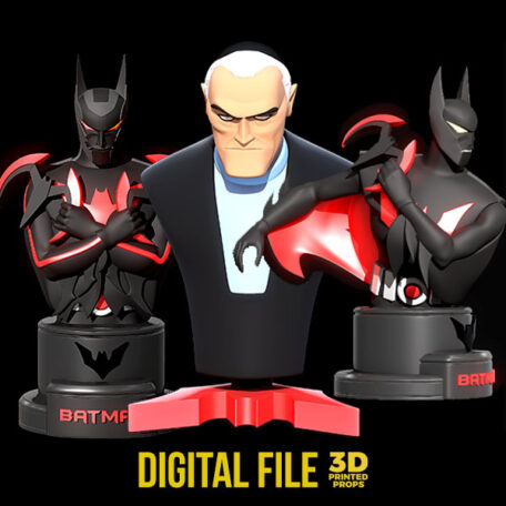 batman beyond bust
