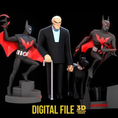 batman beyond statue