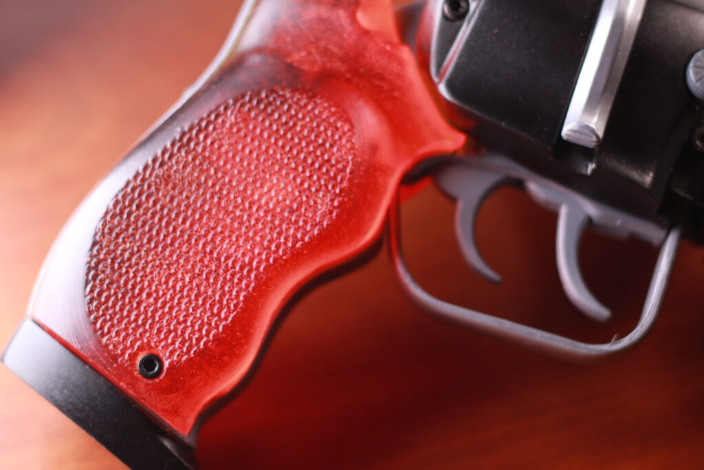 molding pistol grips