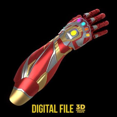ironman mrk85 infinity gauntlet