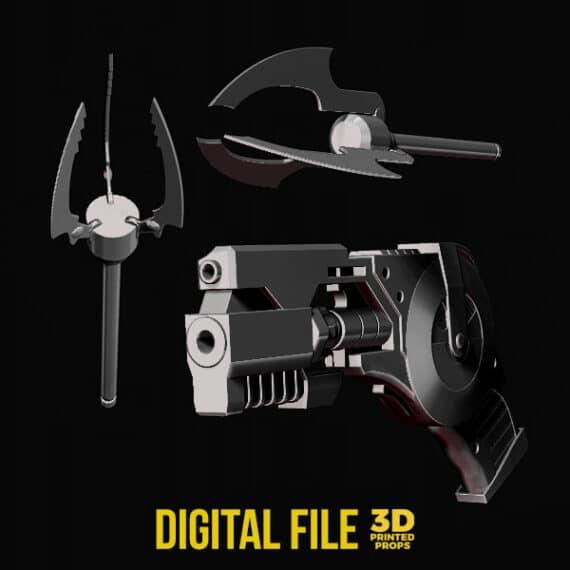 Batman Arkham Origins Grapnel Gun